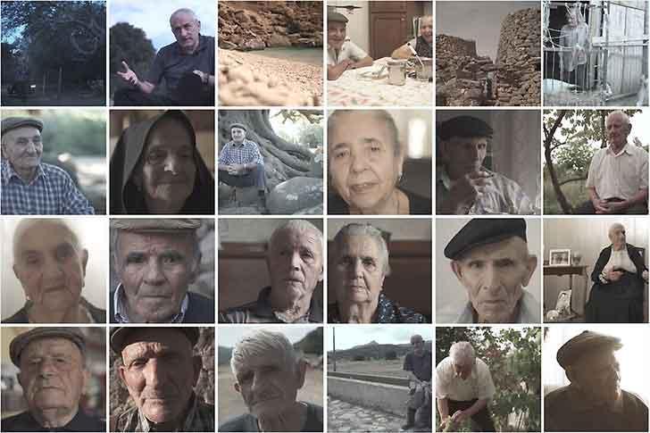 Un docufilm sui centenari dell' Ogliastra