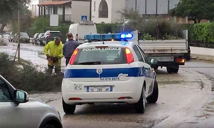 Nord Sardegna flagellato da venti e piogge, domani treni fermi tra Alghero ed Olmedo